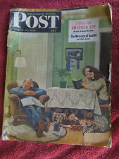 Saturday Evening Post 3/27/48, 2/78, 2/79, Time 7/5,5/76 and People 3/4/74 Mags
