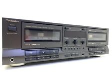 TECHNICS RS-TR515 Auto Reverse Double Cassette Deck Vintage 1991 Workin Like New