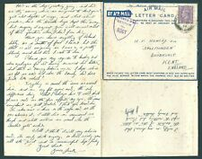 GB 1944 Censored Cover & Letter: Field Post Office 148