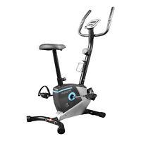 ENJOYFIT® Heimtrainer Ergometer Fahrradtrainer Fitnessbike mit Handpuls-Sensoren