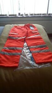 Pulsarail orange trousers 36w long leg