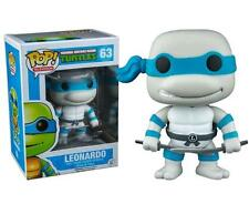 Funko Pop! TMNT Leonardo Greyscale Limited Edition #63 Vinyl Figure - NEW