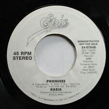 Rock Promo 45 Basia - Promises / Promises On Epic