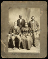 Historic African American Officers of Tobacco Trade Union by Rees Virginia / LOC