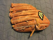 "Mizuno Mmx 120 Professional Model Right Hand Thrower Baseball Glove 12"" Flaws"