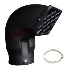 """universal 3.5"""" inch snorkel inlet air intake ram head safari ram FREE CLAMP"""
