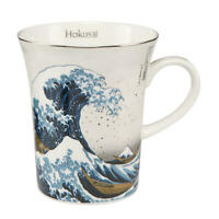 Goebel Die Welle Künstlertasse Künstler Tasse Trinktasse Becher Hokusai Silber