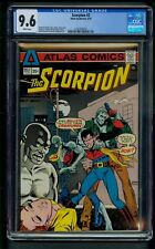 Scorpion #2 (1975) CGC Graded 9.6 ~ Howard Chaykin Story  Wrightson ~ Kaluta