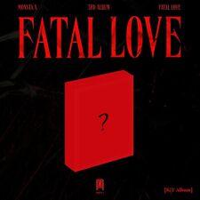 [PRE-ORDER] MONSTA X 3rd Album – [FATAL LOVE] KIT VERSION - NEW & SEALED