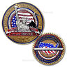 Military Appreciation Challenge Coin · Armed Forces Thank You Coin ·Freedom Coin