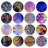 16 Pcs Holographic Gradient Nail Art Foils Laser Bubble Starry Transfer Stickers