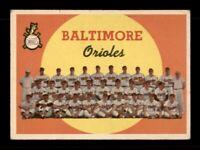 1959 Topps Set Break # 48 Baltimore Team Card VG-EX *OBGcards*