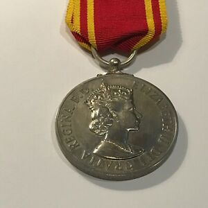 Fire Brigade ER11 Long Service and Conduct Medal