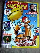 LE JOURNAL DE MICKEY  N° 3618  -  20 OCTOBRE 2021 /  LES  AFFAIRES  DECOLLENT