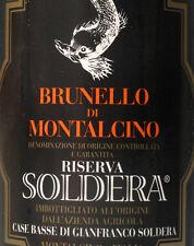 BRUNELLO DI MONTALCINO SOLDERA RISERVA 2006