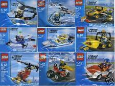 9x Lego City Promotütchen 30010 30014 30017 30018 30019 30150 30151 30152 30222