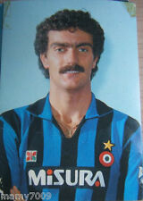 FOTO INTER=FOTOCOLOR/CARTOLINA BEPPE BERGOMI=1982/83=CM 15X10