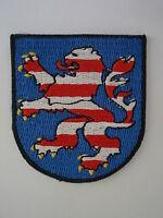 Hessen  Wappen Aufbügler,Aufnäher,Coat of Arms patch Deutschland,Hesse