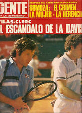 TENNIS GUILLERMO VILAS  DAVIS CUP Magazine 1980