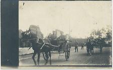 Foto-Soldaten mit Pferdekutsche 1.WK  (H888)