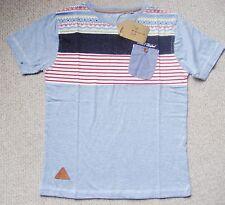 BLU PURO manica corta in Cotone T-shirt da Rock & Revival Età 13 anni BNWT