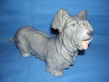 Rare LARGE Bing & Grondahl Porcelain Copenhagen SKYE TERRIER Dog Figurine