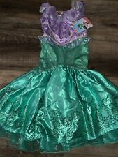 Little Mermaid ~ Halloween Kid's Costume Girl's Dress Disney Disguise ~ S (4-6x)