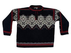Boys Hanna Andersson Size 110 US 5 Sweater Fair Isle Snowflake