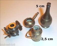 lot de miniatures en cuivre / laiton ancien, vintage, collection **C21