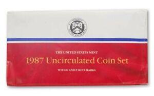 """1987 U.S. Mint Set """"BU"""" *Free S/H After 1st Item*"""