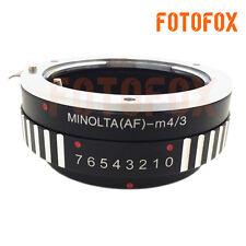 AF-M4/3 Adapter for Sony Alpha Minolta AF MA Lens to Micro4/3 M4/3 E-PL2 EPM1 G1