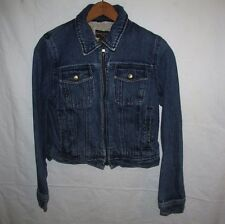Banana Republic Lined Denim Jacket Women XS
