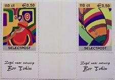 Stadspost Zaanstad 2000 - Serie Zeefdrukken met tussenstrook (2)