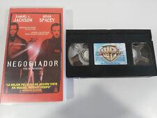 VERHANDLUNGSFÜHRER THE SAMUEL L JACKSON GARY GRAY - VHS AUSGABE SPANISCH
