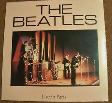 "THE BEATLES ""LIVE IN PARIS 1964"" LP STILL SEALED SAN FRANCISCO 1966 PYRAMID RFT2"