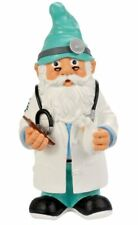 """Doctor Thematic Garden Gnome Medical School Hospital Office New 11"""" - Great gift"""