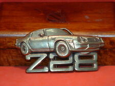 Pre-Owned 1979 Baron Buckles Z-28 Solid Brass Belt Buckle