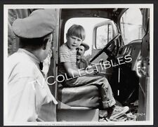 8x10 Photo~ THE RABBIT TRAP ~1958 ~Kevin Corcoran ~sits in truck ~CS