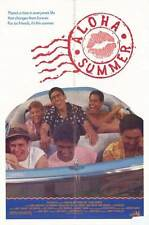 ALOHA SUMMER Movie POSTER 27x40 Chris Makepeace Lorie Griffin Don Michael Paul