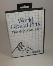 World Grand Prix (Sega Master, 1986) System SMS Complete CIB Nice Shape
