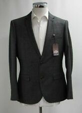 Herren Harry Brown Slim Fit 2pc Anzug in Karo Grau (40s)... - 4402