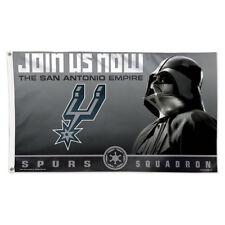 San Antonio Spurs Star Wars Darth Vader Large Outdoor Flag