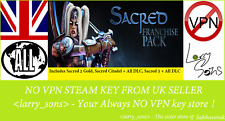 Sacred franchise Pack Inc 2 3 Citadelle alldlc Clé Steam novpn Regionfree Ukseller
