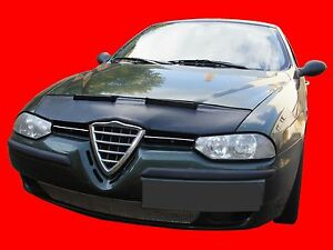 CAR HOOD BRA  fit ALFA ROMEO 156 1997-2003 NOSE FRONT END MASK TUNING