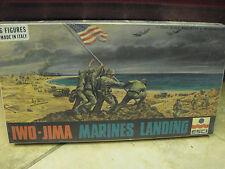 ESCI IWO-JIMA Marines Landing 6 figures Model Kit vintage 1/72 Italy 10+ age