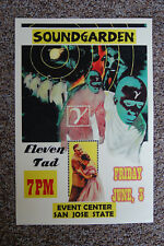 Soundgarden Concert Tour Poster 1994 San Jose