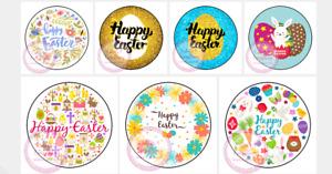 Happy Easter Egg Rabbit Stickers Gift Box Sweet Cones Sweet Hamper Gift Bag