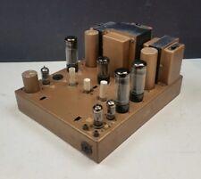 Leak Stereo 50 Vintage Valve Power Amplifier HiFi 1960s Mullard EL34 KT66
