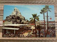 Disneyland Vintage Unused Postcard Tomorrowland Terrace, Skyway, Monorail c1967