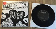 """ALKALINE Trio-Burn 7"""" part 1 LIMITED VINILE Blink 182"""